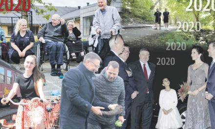 2020 – et år på godt og ondt