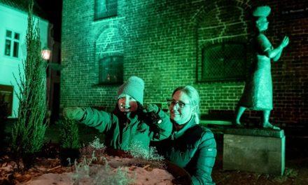 Randers lyser grønt samler byen i en stor event