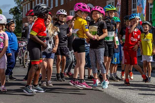 Danmarks største cykelløb for børn kommer til Randers