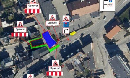 Kryds i Vorup lukker i 16 uger