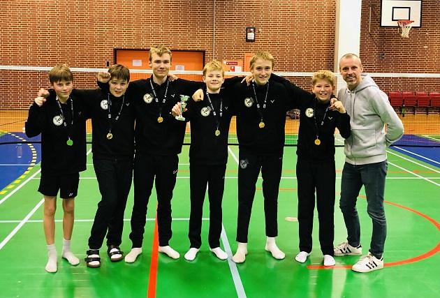 Randers Badminton klub vinder DM for U13-hold