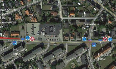 Kloakarbejde ændrer trafikken på Bøsbrovej og en del af Løgstørvej