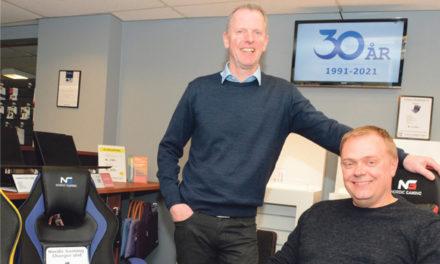 Lille og vigtigt firma fejrer 30 års fødselsdag