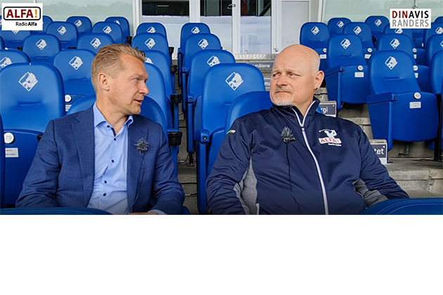Interview med Søren Pedersen omkring Pokalfinalen på torsdag