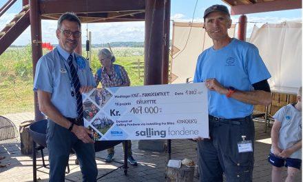 Donation skal give børn mere naturfortrolighed ved Fjordcenter Randers