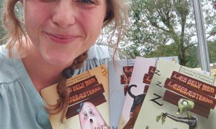 Nye børnebøger fra lokal forfatter