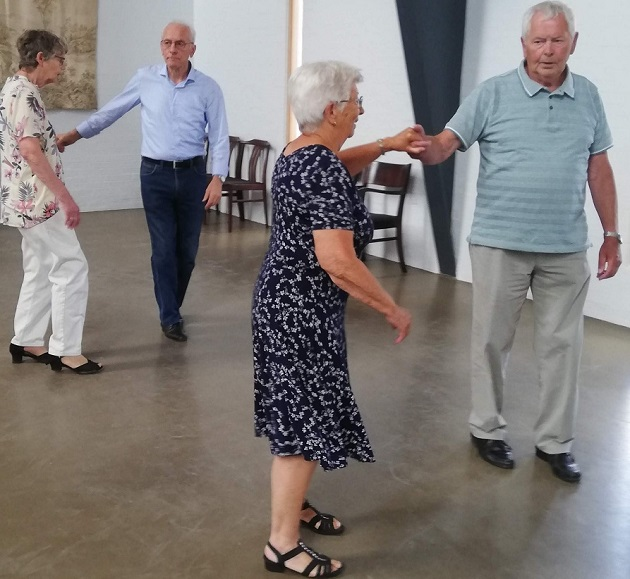 Seniordans stævner ud
